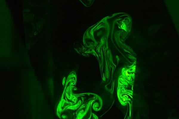 Fog effects in laser light